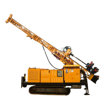 Surface crawler rig reverse circulation rotary drilling rig